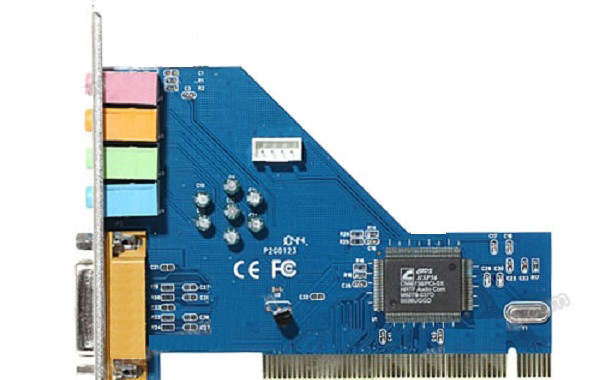 PCI01 Startech four-channel PCI sound card