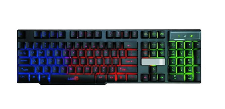GKB01 L.E.D Gaming keyboard